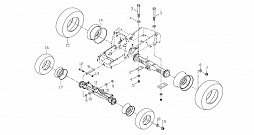 WHEEL AND AXLE CONNECTIONS